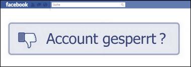 facebook-login-gesperrt