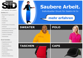 Online-Shop individuell responsive